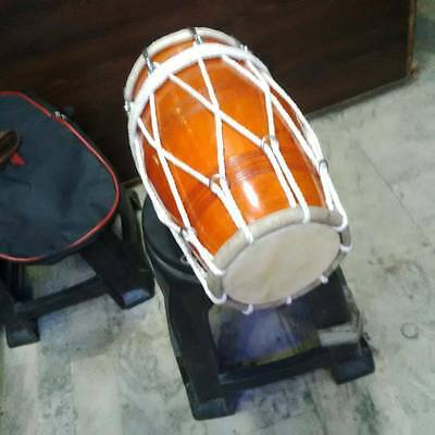 """ROPE + BOLT DHOLAK^DHOLKI:REAL""""PROFESSIONAL""""for""""orcestra,FAST SHIPPING"""
