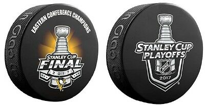 2017 Pittsburgh Penguins  Puck Eastern Conference Champions Stanley Cup Final