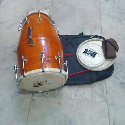 "best new dholak""mango_wood""bolt""fitting,dhollki nice sound best offer dholak,,"