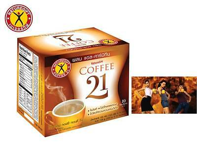 Coffee Diet Naturegift 21 Weight Slimming Loss Instant Mix Slim Fat 1 Drink Plus