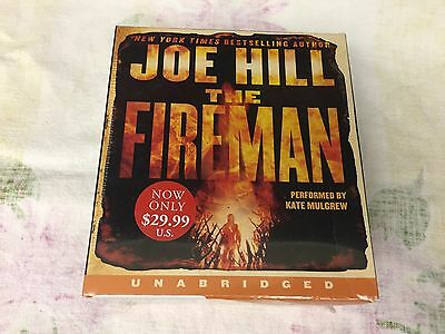The Fireman by Joe Hill (2017, audio CD, Unabridged) BRAND NEW/ Book on CD