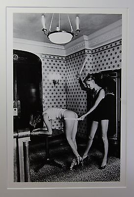 "Helmut Newton - ""Interior"" - original Photo Litho - Special Collection"