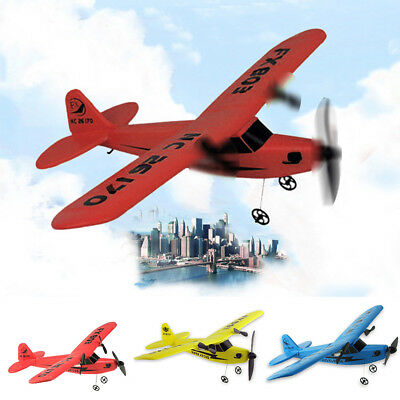 New RC Plane Remote Glider Control Airplane Aeroplane Glider Outdoor Toys