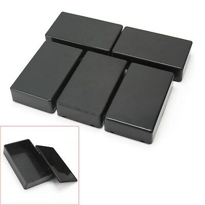 5Pcs Plastic Electronic Project Box Enclosure Instrument Case 100x60x25mm BO