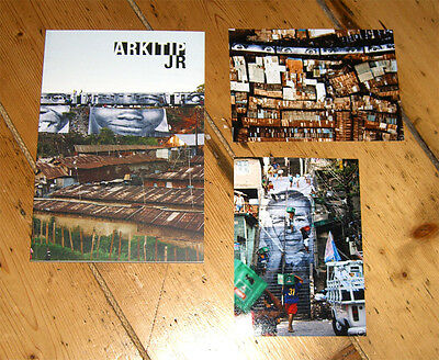 JR Arkitip 0056 magazine Limited edition SOLD OUT + 2 photo prints un signed
