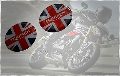 Triumph Speed Tripale Tiger Daytona Bonneville Rocket Union Jack Badge Decals