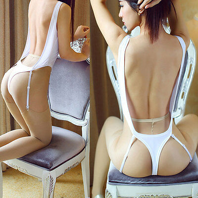 Women's Bodysuit Leotard Lingerie
