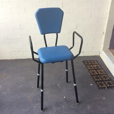Mobility Disability  chair slide adjustable legs used