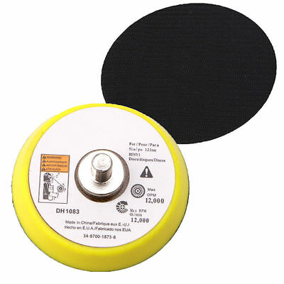 2inch Polishing Sander Backer Plate Napping Hook Loop Sanding Disc Pad