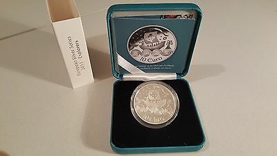 Ireland 2011 €10 St. Brendan the Navigator Silver Proof Coin