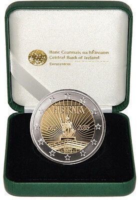 Ireland 2016 €2 Proclamation of the Irish Republic Proof Coin