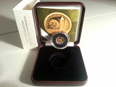 Ireland 2013 €20 The Rock of Cashel Gold Proof Coin