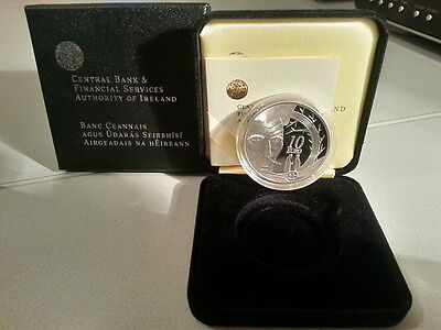 Ireland 2006 €10 Samuel Beckett Silver Proof Coin