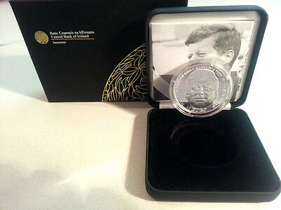 Ireland 2013 €10 John F Kennedy Silver Proof Coin