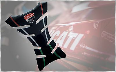 Ducati Corse 748 848 1098 1198 1199 1299 899 Panigale 3D Carbon Tank Protector