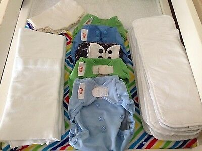 Bumgenius Flip Modern Cloth Nappy MCN Part Time Bulk Lot ***Free Post***
