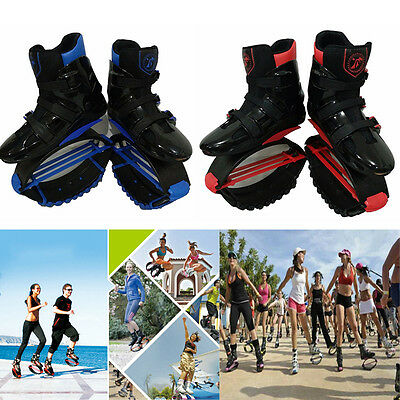 Black Red Kangoo Boots Jump Shoes Fitness Jumping Shoes Bouncy Shoes XL XXL