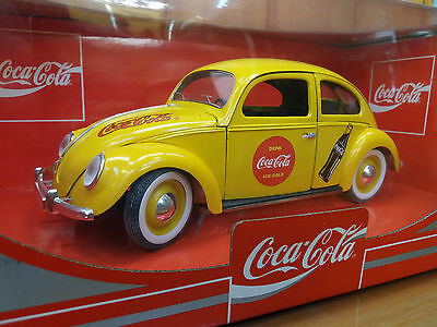 COCA COLA - VW COCCINELLE BERLINE Ref.9505 - SOLIDO 1/18 - BEETLE - ORIGINAL BOX