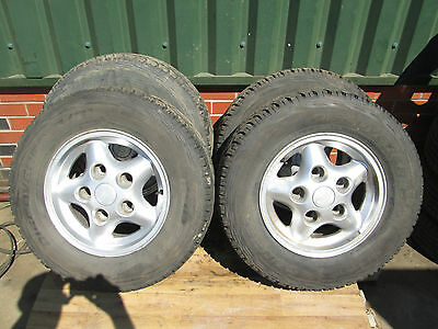 "Landrover Discovery 1 Alloy Wheels 300 Tdi V8 16"" With Tyres"