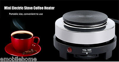 Mini Electric Stove Coffee Heater Cooking Plate Kitchen Cooker 500W EU Plug