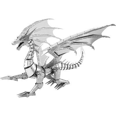 Metal Earth: Iconx Silver Dragon