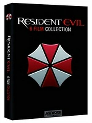 Resident Evil 6 Film Collection (6 DVD)