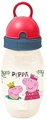 Peppa Pig Pixie Drinks Water Bottle Childrens Kids Small Picnic Lunch Girls NEW