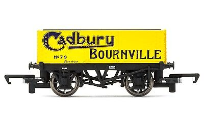 Hornby R6751 Cadbury Bournville 6 Plank SWB Freight Wagon OO Gauge 1:76 Scale
