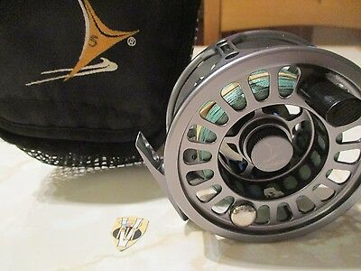 Used Vosseler S2 Salmon & Saltwater 8/10 Fly Reel with Backing & Case