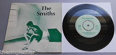 "The Smiths - William, It Was Really Nothing UK 1984 Rough Trade 7"" P/S Push-Out"