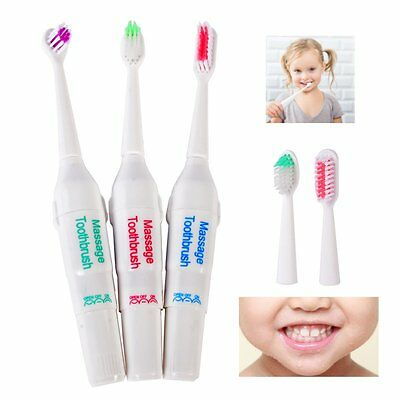 Battery Operated Electric Toothbrush 3 Brush Heads (INT)