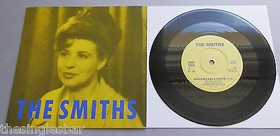 "The Smiths - Shakespeare's Sister UK 1985 Rough Trade 7"" P/S Solid Centre"