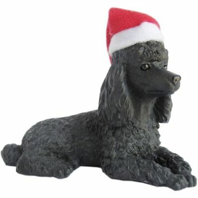 New Sandicast Ornaments Poodle, Black