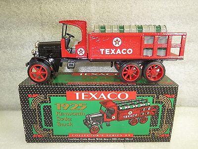 TEXACO 1925 KENWORTH STAKE TRUCK-Die Cast Metal #9 in the series