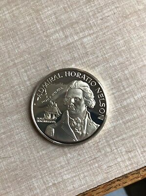 Jamaica 1976 - 10 Dollars Coin- Proof -Silver - Admiral Horatio Nelson