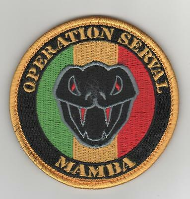 Patch Mirage 2000 D - Serval Mamba