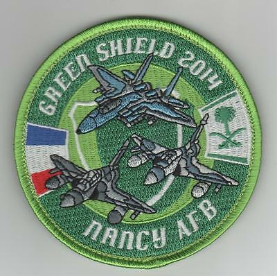 PATCH MIRAGE 2000 D - Green Shield 2014