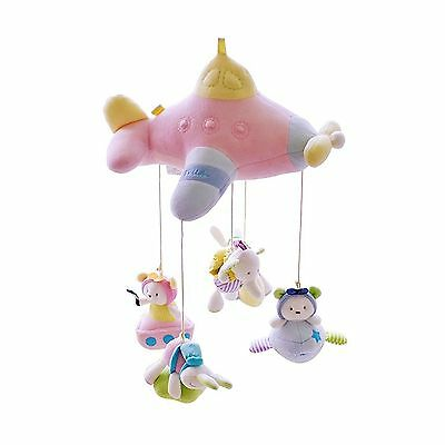 SHILOH Baby Crib Mobile Newborn Crib Toy with Bracket and 60 tunes Musical Bo...