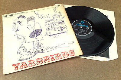 "YARDBIRDS "" ROGER THE ENGINEER "" SUPER & VRARE ORIG UK MONO LP 1g 1m L@@K"