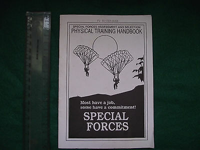 Us Special Forces Assessment & Selection Physical Training Handbook Sfas