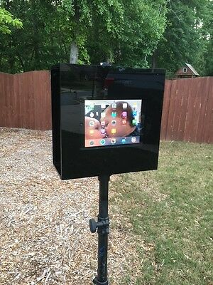 Luft Booth GLAZE Portable iPad Photo booth with Stand for Weddings and Parties