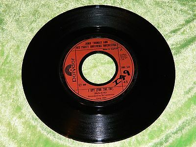 """JAMO THOMAS & PARTY BROTHERS ORCH : I spy (for the FBI) - Orig 1975 UK 7"""" EX/NM"""