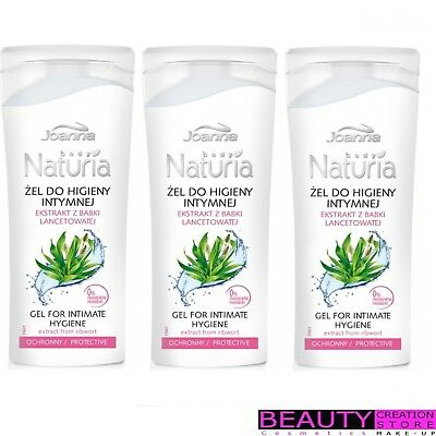 JOANNA Gel For Intimate Hygiene Extract From Ribwort PROTECTIVE 100ml JN047