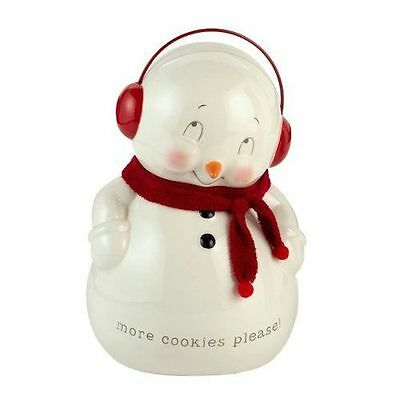 New Dept56 Snowman Cookie Jar