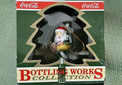 COCA-COLA 1992 Bottling Works Thirsting For Adventure Ornament NEW IN BOX