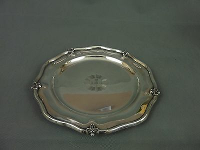Vintage Antique Silver Plated Ecclesiastical Church Altar Plate / Tray