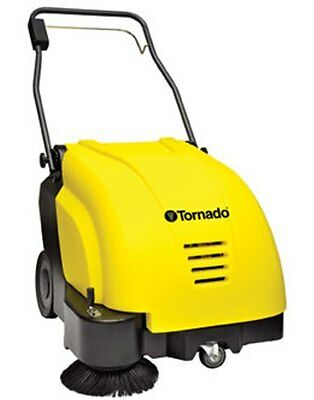 Tornado SWB 26/8 Battery Sweeper for Hard Floors and Carpet