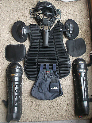 All-Star Umpire Gear Set face mask chest protector shin pads