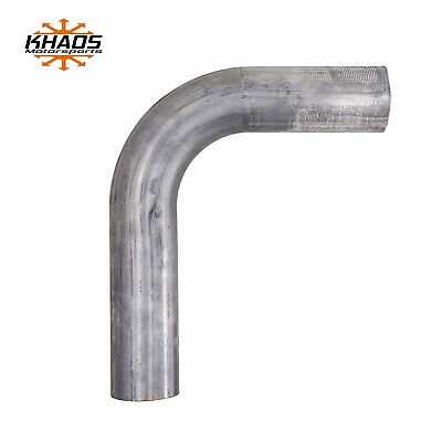 "2/""  22.5 degree 16ga Aluminized Mandrel Bend Exhaust Tubing Pipe Turbo Downpipe"