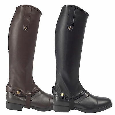 BROGINI TREVISO PICCINO black or brown childs gaiters rider wear